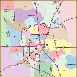 Northwest Houston Zip Code Map.26 Original Houston Key Map Bnhspine Com